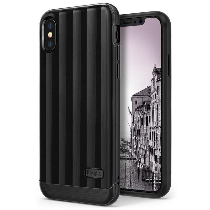 Кейс RINGKE FLEX S PRO Titanium Black для iPhone X