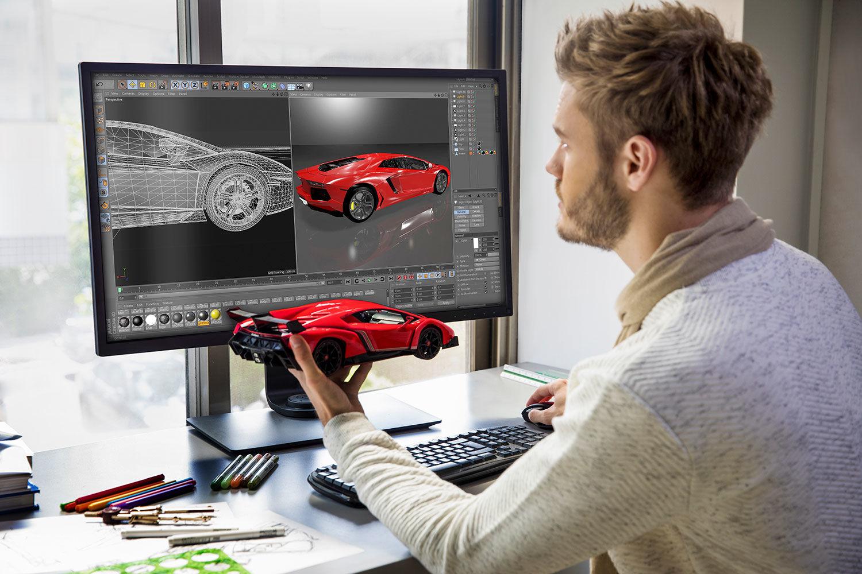Монитор для дизайнера – часть оборудования, которая профессионалу требуется для работы, чтобы наглядно воплотить свои идеи