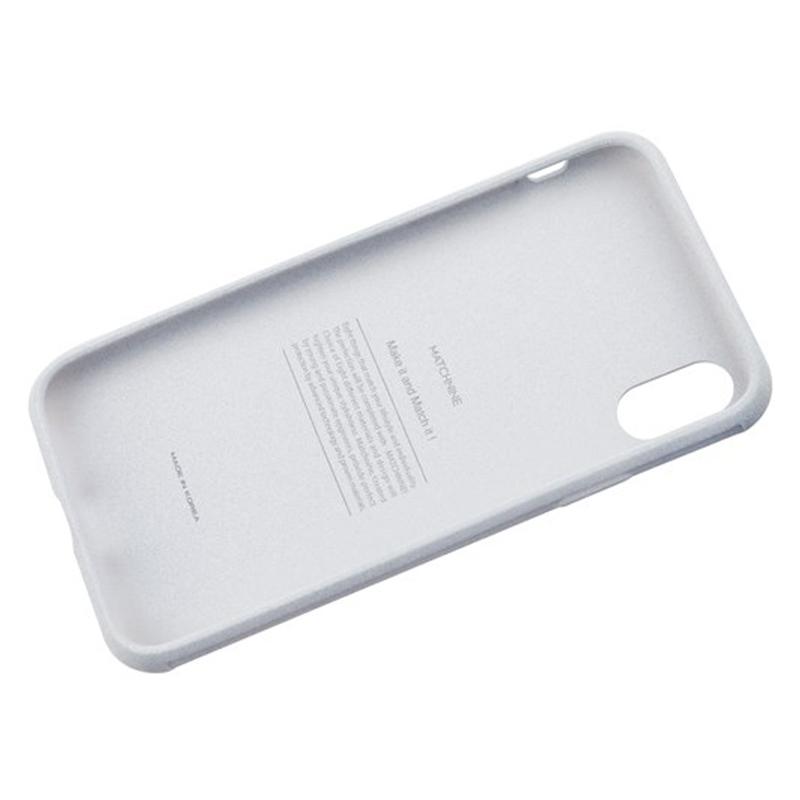 Накладка Matchnine Jeelo Pebble для смартфона Apple iPhone X/XS