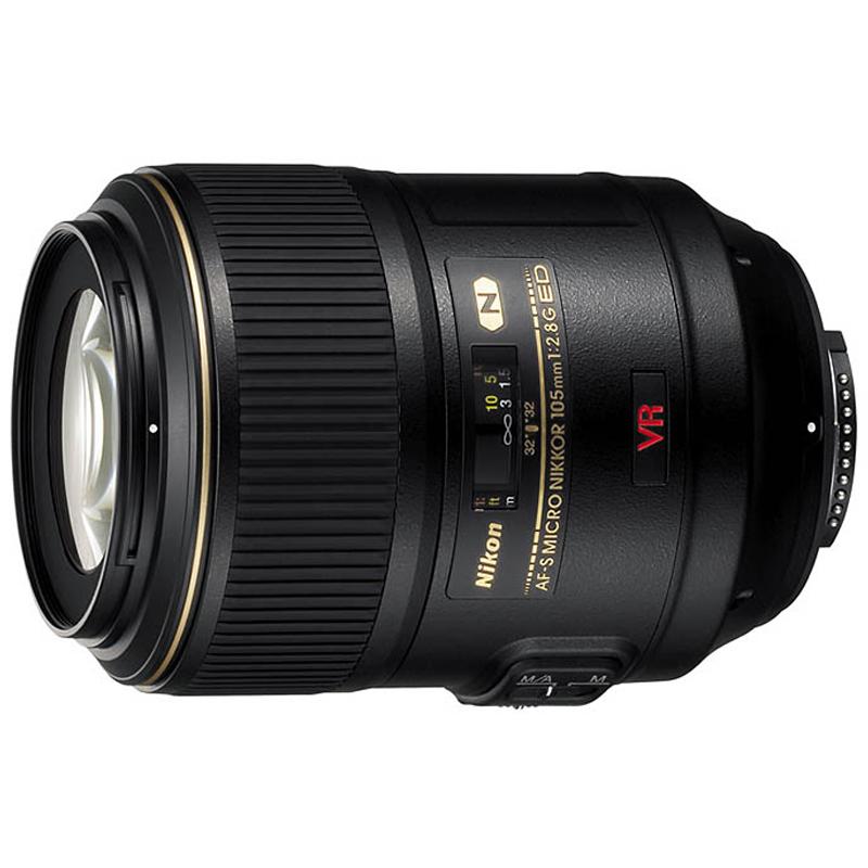 Nikon 105mm f/2.8G IF-ED AF-S VR Micro-Nikkor