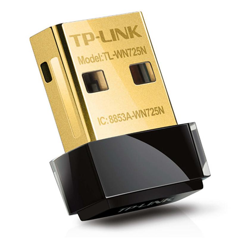 Сетевой адаптер WiFi TP-Link TLWN725N USB 2.0