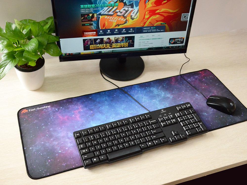 Тряпичная поверхность для клавиатуры и мыши