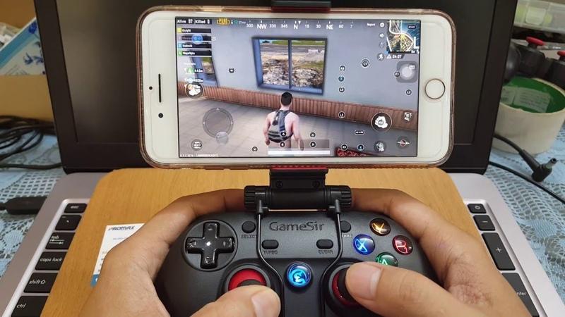 Геймпад дает возможность играть не только на ПК, но и на смартфоне