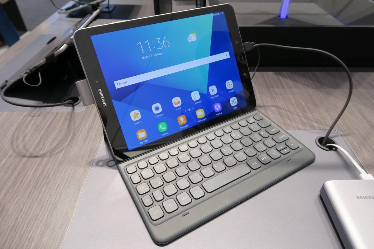 Внешняя клавиатура для планшета