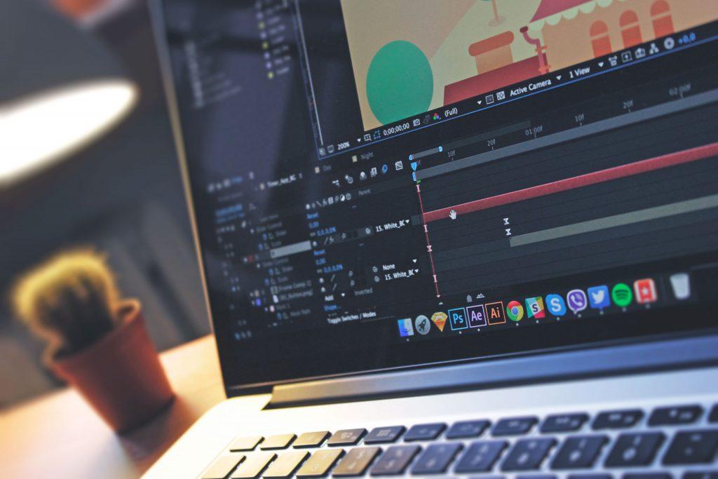 Графика движения, моушен дизайн или анимационный дизайн — визуальное оформление для видео, телевидения и кино