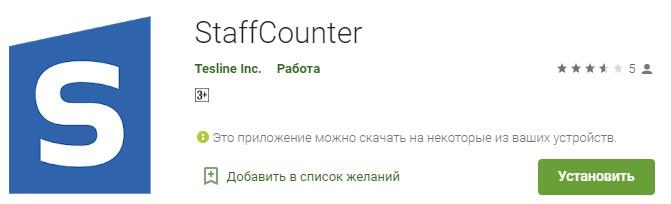StaffCounter