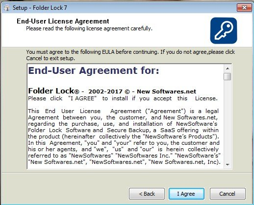 Принятие условий пользовательского соглашения
