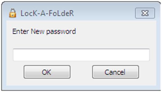 Создание пароля для папки