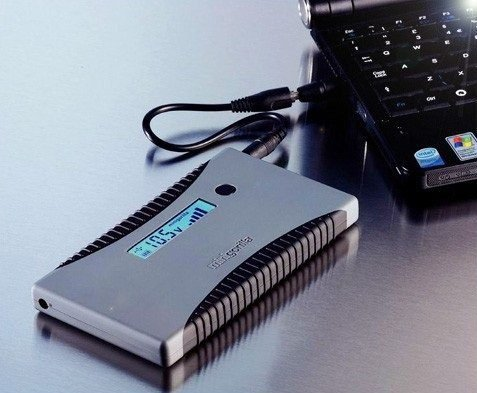 Подключение внешнего аккумулятора к ноутбуку