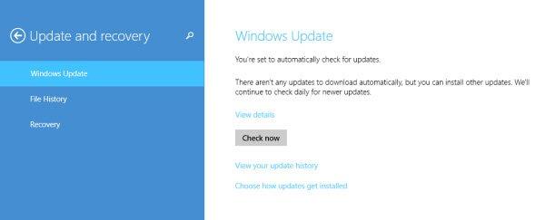 Приложение «Windows Update»