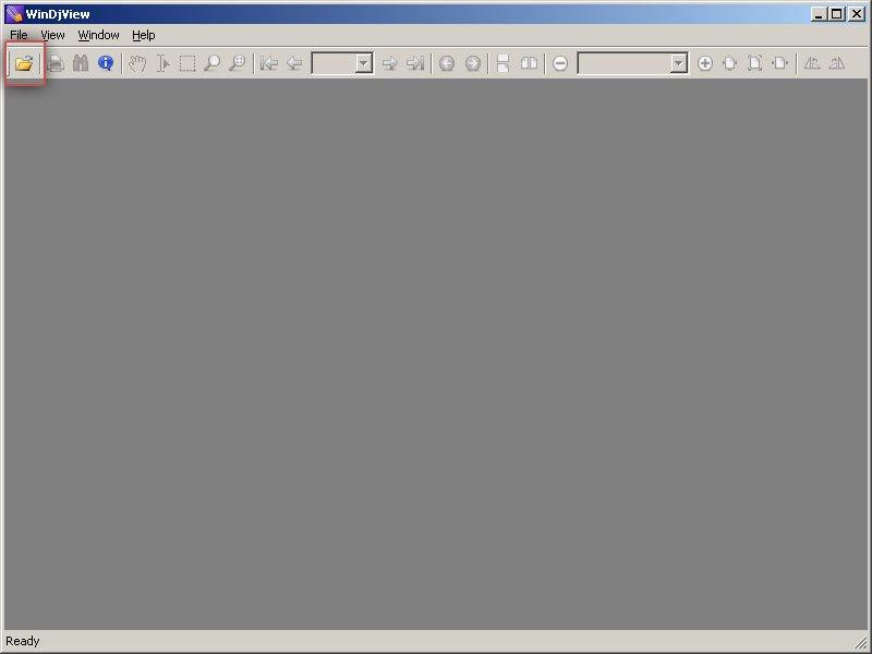 WinDjView - бесплатная программа, используемая для чтения файлов DjVu