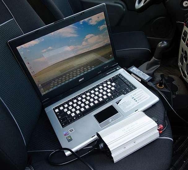 Зарядка ноутбука через автоинвертор