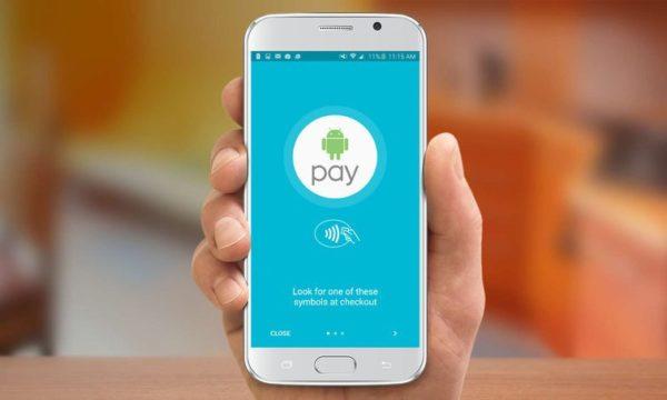 Android Pay может быть только на смартфонах с ОС Android KitKat 4.4 и выше