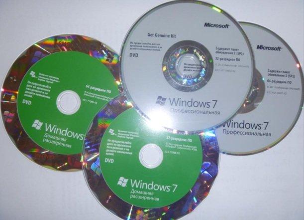 Диск с Windows 7