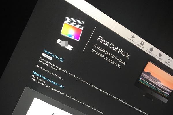 Использование приложений типа Final Cut Pro X требует мощной оперативной памяти