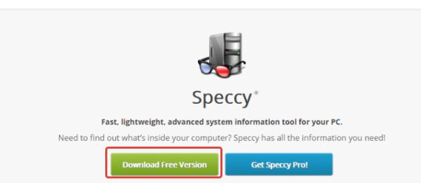 Скачиваем и устанавливаем программу Speccy на компьютере