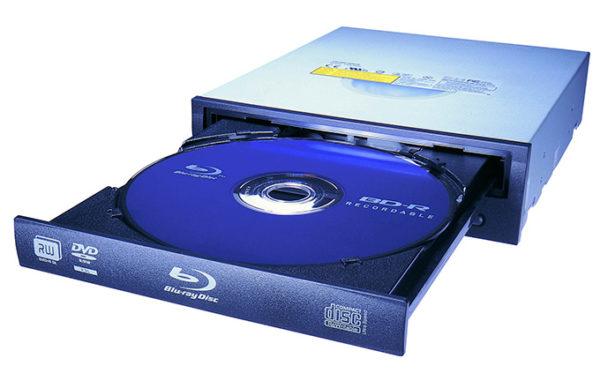 Убираем DVD с DVD-ROM