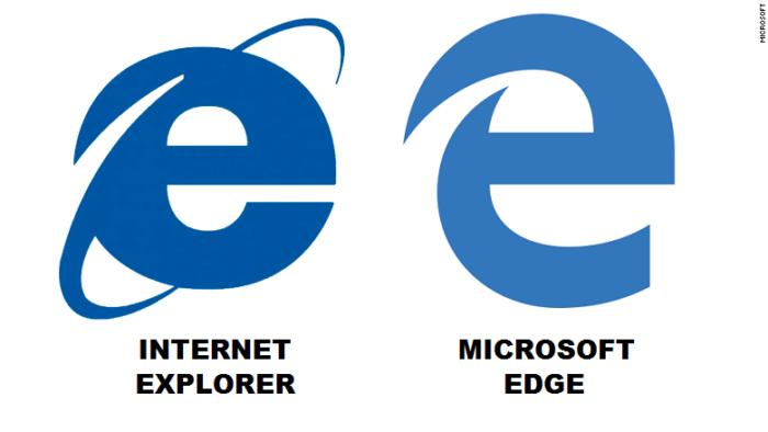 Сравнение встроенных браузеров Microsoft Edge для Windows 10 и Internet Explorer Windows 7
