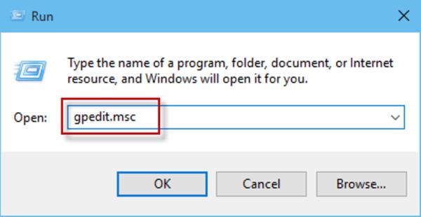 Вводим «gpedit.msc», нажимаем «Enter»