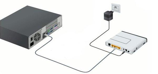 Задняя панель консоли имеет несколько разъемов для кабеля