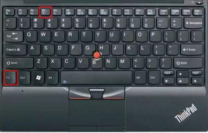 Отключаем микрофон на клавиатуре ноутбука