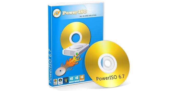 Программа PowerISO
