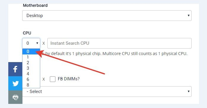 Раздел CPU – данные о процессоре