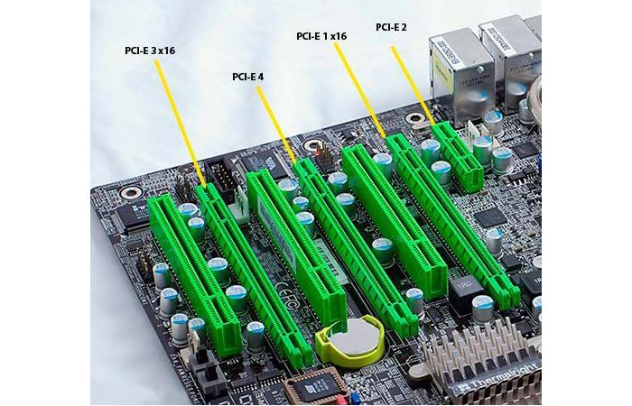 Тип разъёма PCI Express поддерживает мощные видеокарты