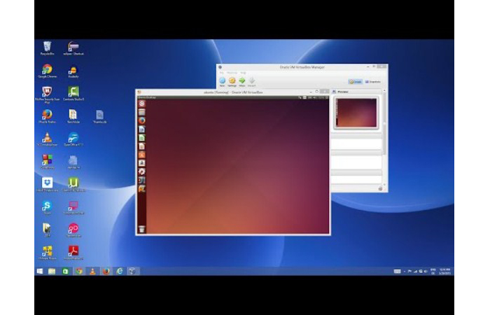 Устанавливаем с использованием программы VirtualBox
