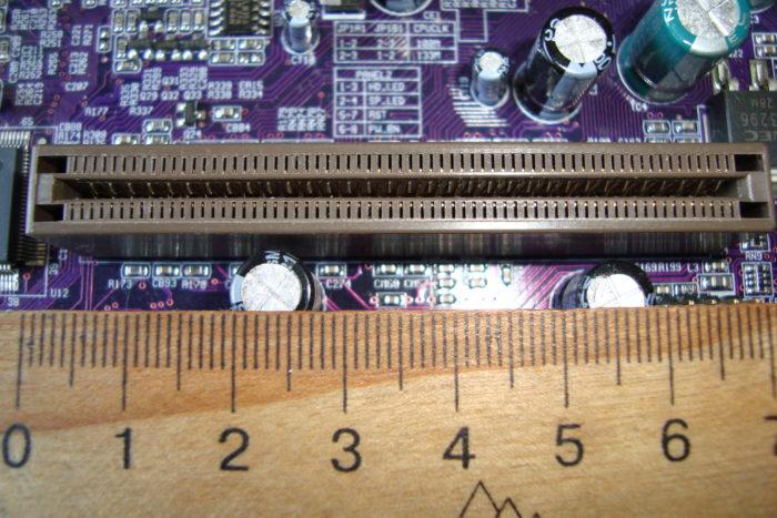 Устаревший тип разъёма Accelerated Graphics Port