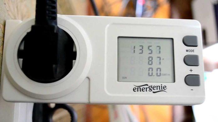 Устройство, предназначенное для точного измерения потребляемой электроэнергии