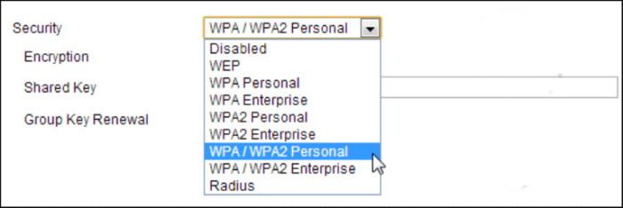 Новые и более надежные типы шифрования WPA