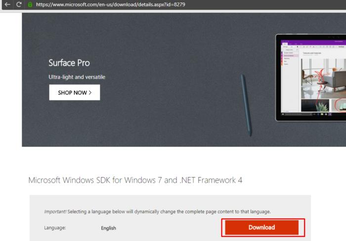Переходим на официальный сайт Майкрософт по ссылке, нажимаем кнопку «Download»